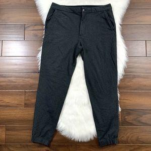 Lululemon Size 36 Charcoal Gray Jogger Sweat Pants